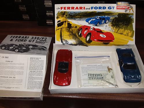 Monogram - Ferrari 330 P2 Ford GT Box Set