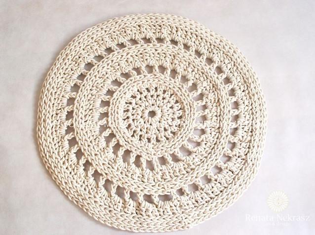 Handmade crochet rug  model VENICE (4).j