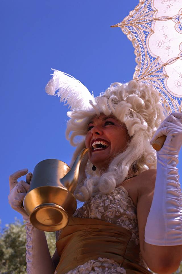 Magic Teapot Lady