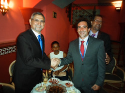 Bordy with Cape Verde President