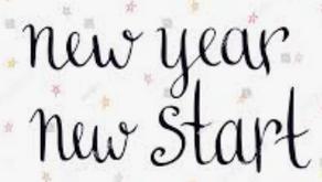 Jan 2021: New Year - New Start