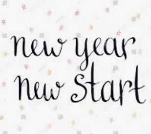 Jan 2021: New Year - New Start