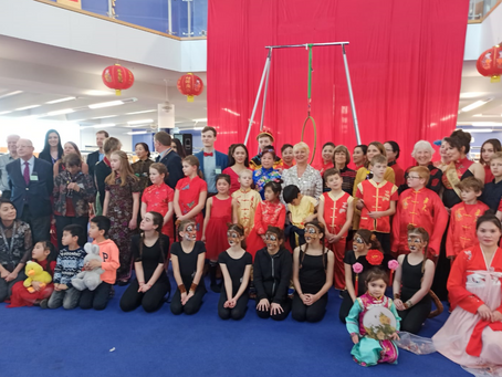 Celebrating Chinese New Year at the Bournemouth Library