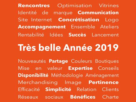Bonheur et réussite pour 2019 !