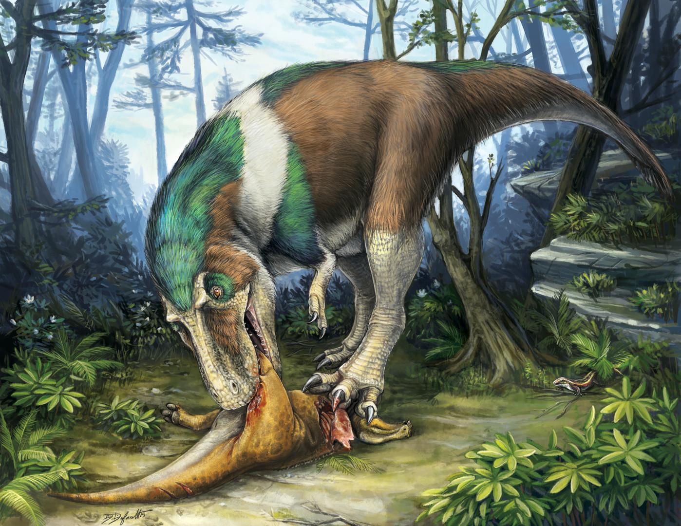 Dinner in Dinosaur Park
