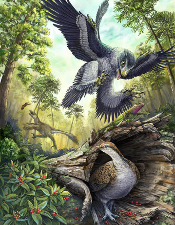 Hell Creek theropods