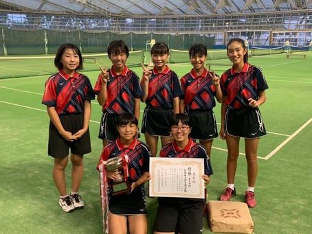 サンワカップ中学女子団体戦