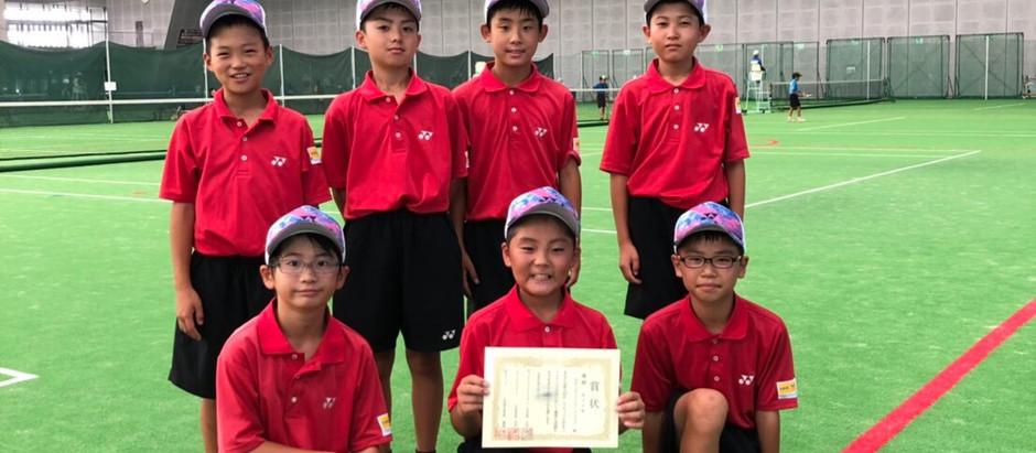 サンワカップ小学生大会男子団体戦