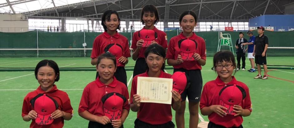 サンワカップ小学生大会女子団体戦