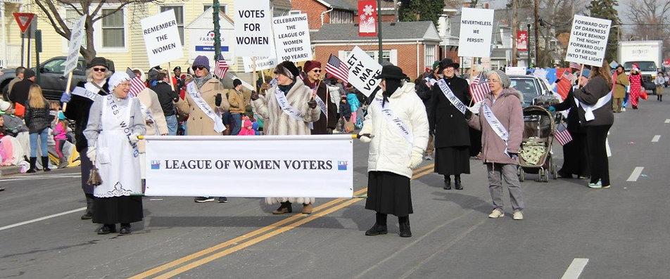 LWVBG at the BG Holiday Parade.jpg