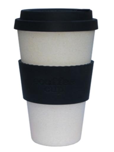 14 oz organic bamboo fibre ecoffee cup