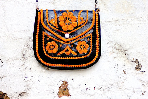 gypsy bag black/orange