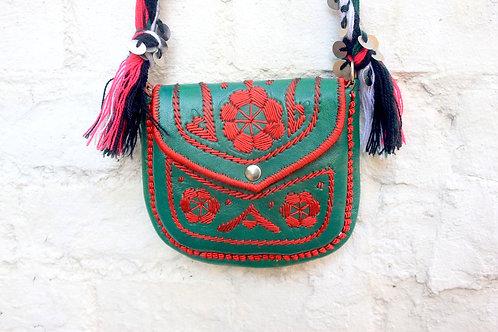 gypsy bag green