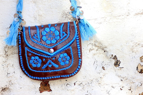 gypsy bag brown/aqua
