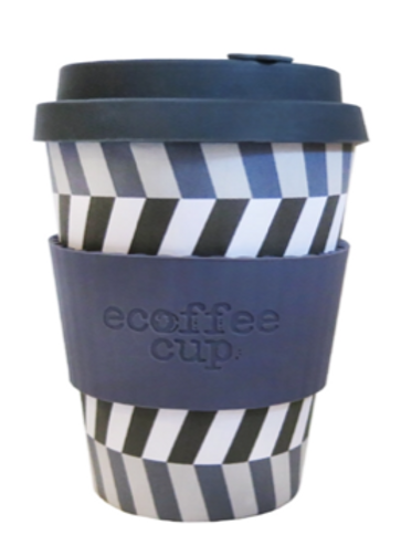 12 oz organic bamboo fibre ecoffee cup