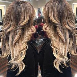 double hair