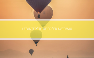 Creer son site internet Wix