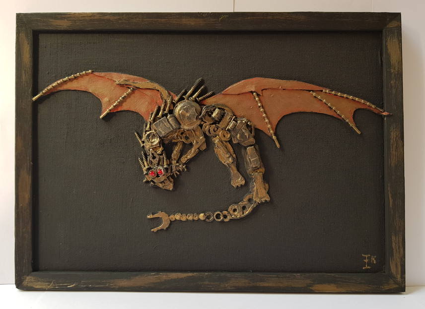 red wings dragon
