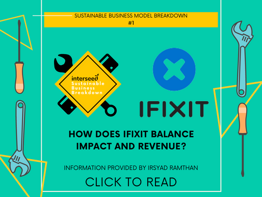 IFIXIT nailing it! (Sustainable Business Breakdown)