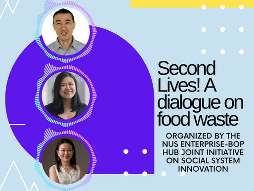 Second Lives! A dialogue on food waste