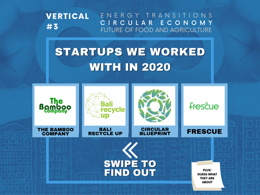 You complete me | Circular Economy Startups from 2020