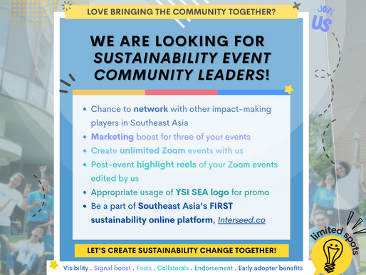 We are looking for Community Leaders!