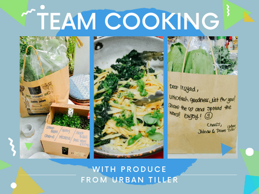 Kale'in it with Urban Tiller!