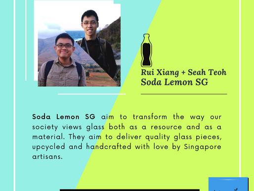 Exploring Glass Circularity - Sean and Rui Xiang from SodaLemonSG.com