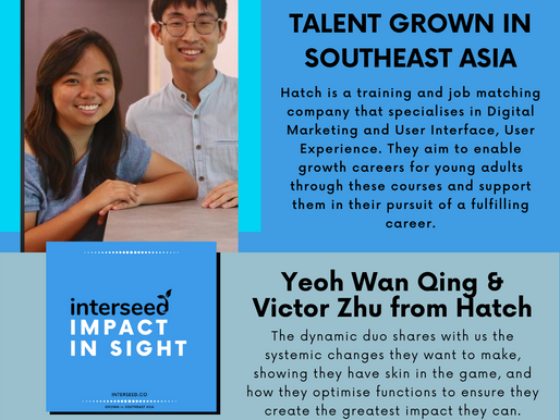 Cracking Youth Employment with Victor Zhu & Yeoh Wan Qing from Hatch (Podcast)