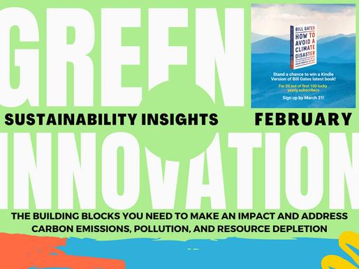 Insights: Green Innovation Building Blocks (February)