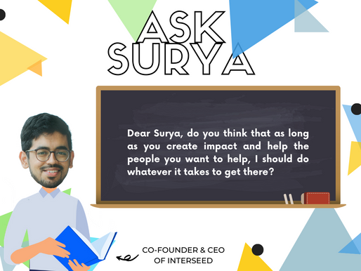 ASK SURYA | Founder Journey Edition
