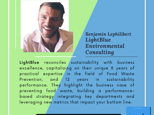 Food Waste for Thought - Benjamin Lephilibert from LightBlue Environmental Consulting