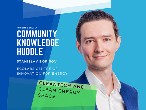 Riding the wave of Cleantech and Clean Energy Space