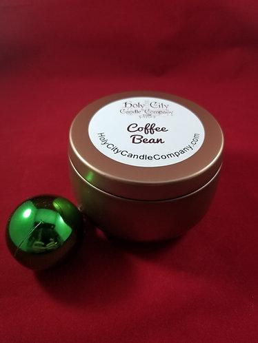 Coffee Bean 8oz copper tin