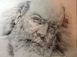Portrait of Artist Chris Lopez