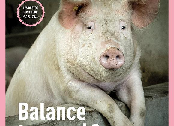 N°8 : Balance ton quoi ?