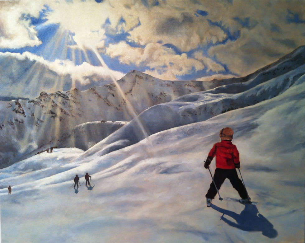 Jasper skiing