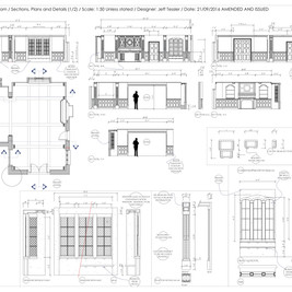 032C - Gold Room - Set Build - Tankhouse