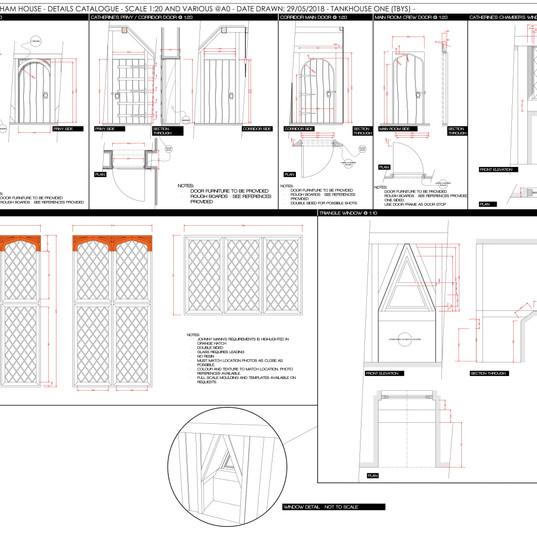 TSP - 0326 - Durham House - Details - Ta