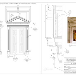031 - Bank - Architrave - Leigh Court -