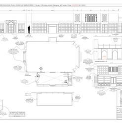 067C - Courtroom - Set Build - Studio M3