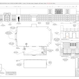067C - Courtroom - Set Build - Studio M3
