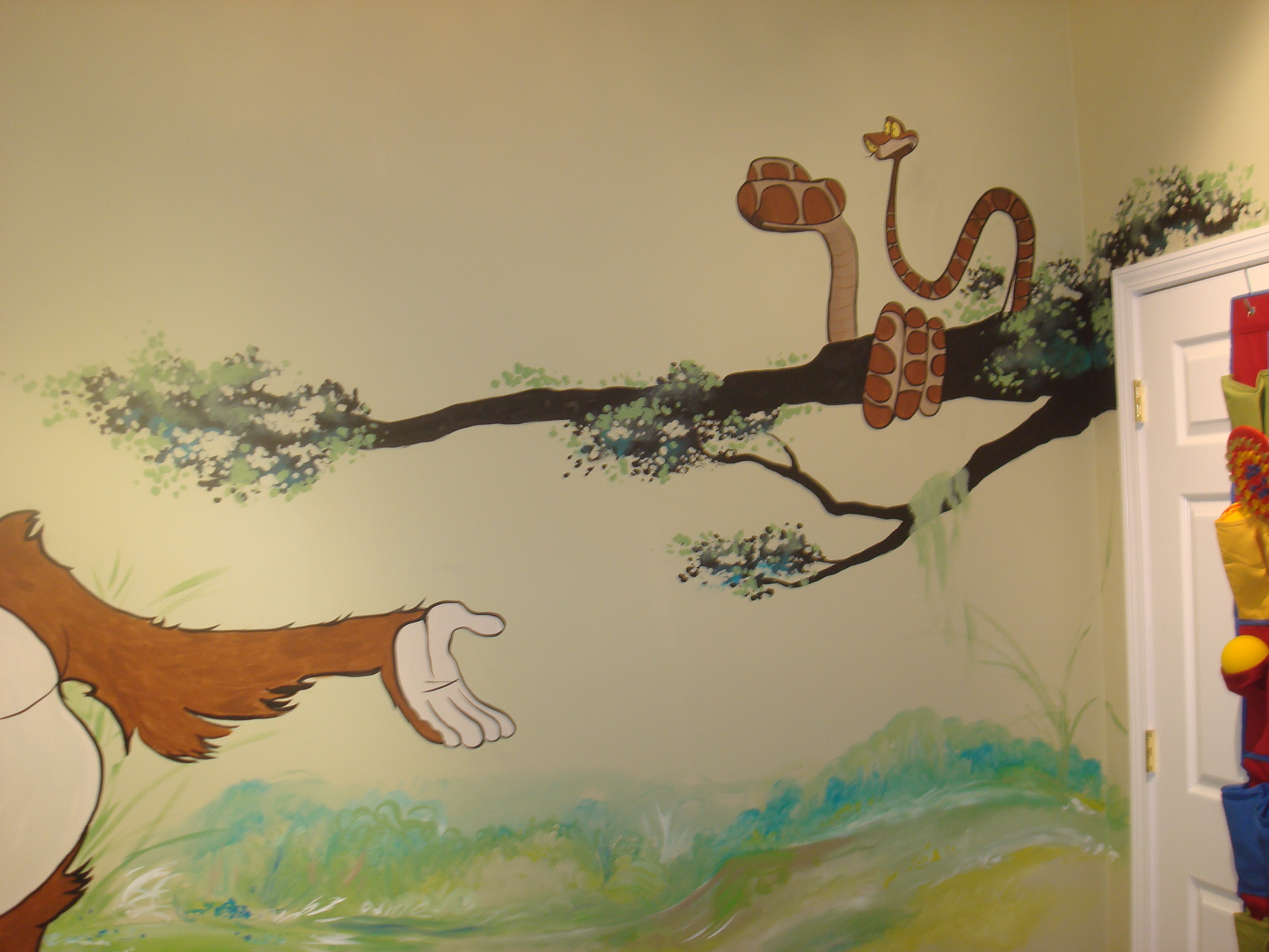 JUNGLE BOOK MURAL73