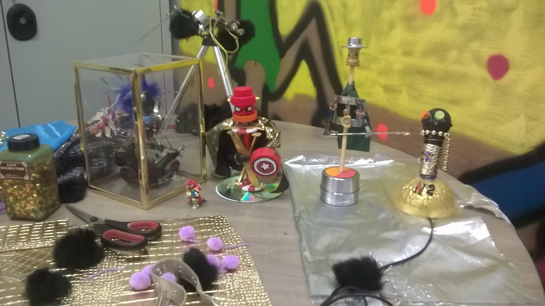 Atelier fabrication de superheros