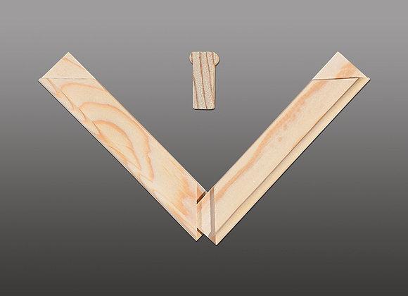 """S-Bars"" 50 Bar Bundle: Standard Stretcher Bars"