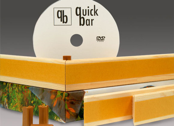 """Quick Bars"" 12-Bar Box: 1.5"" Deep x 1 1/8"" Wide"