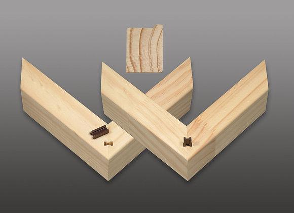 """X-Bars"" 15-Bar Box: 2"" Deep x 1 1/8"" Wide Stretcher Bar"
