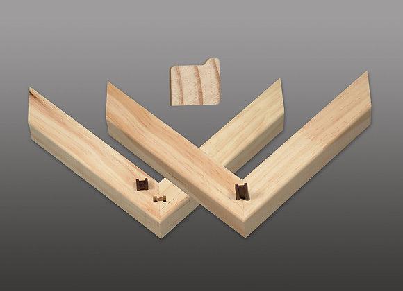 """H-Bars"" 30-Bar Box: 1"" Deep x 1 1/8"" Wide Stretcher Bars 30 Bar Box"