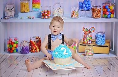 cake smash photographer newport