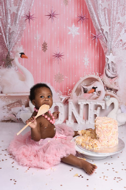 cake smash photo session newport